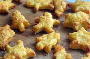 Savoury Christmas Cheese Puffs