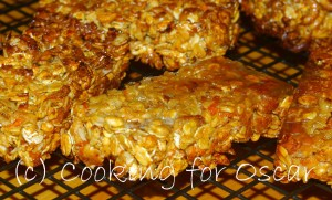 Carrot and Zucchini Muesli Bars