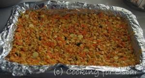 Carrot Zucchini Muesli Slice